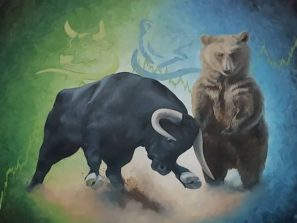 Bull and bear-forex
